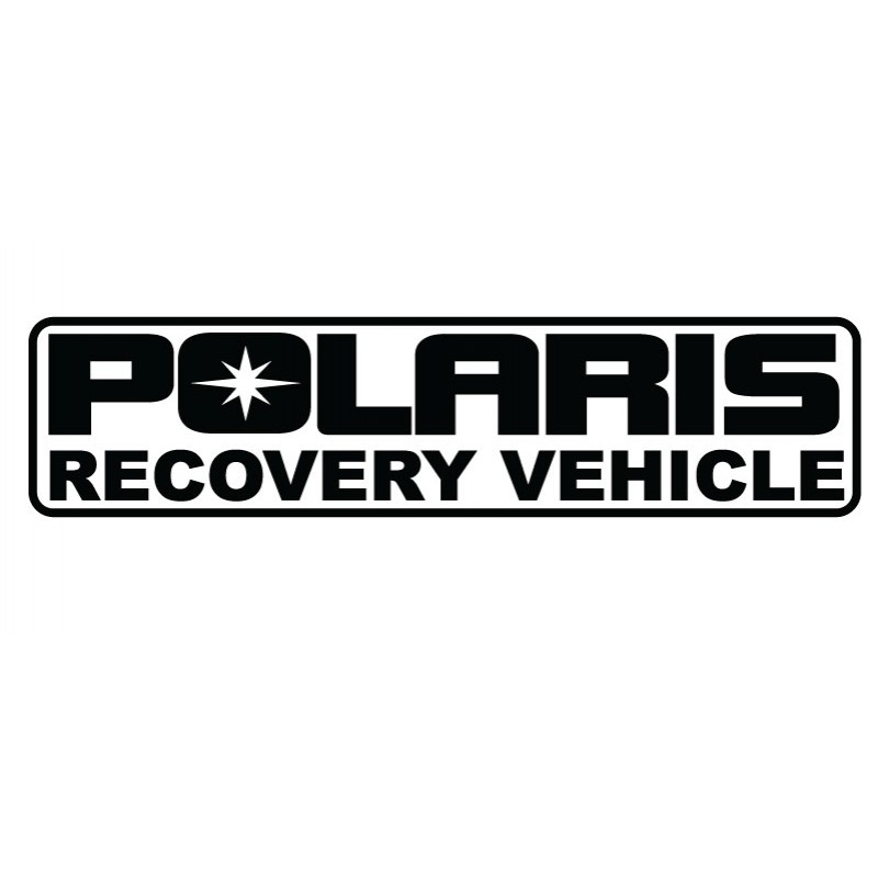 Polaris Recovery Vehicle Decal Kit- Many Colors to Chose From