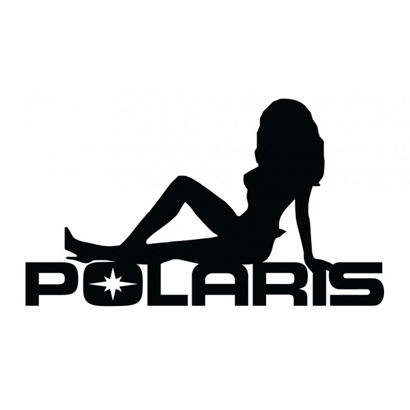 Polaris Sexy Girl Decal Kit- Many Colors to Chose From