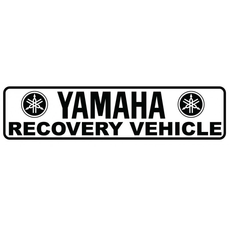 Yamaha Recovery Vehicle Decal Kit- Many Colors to Chose From