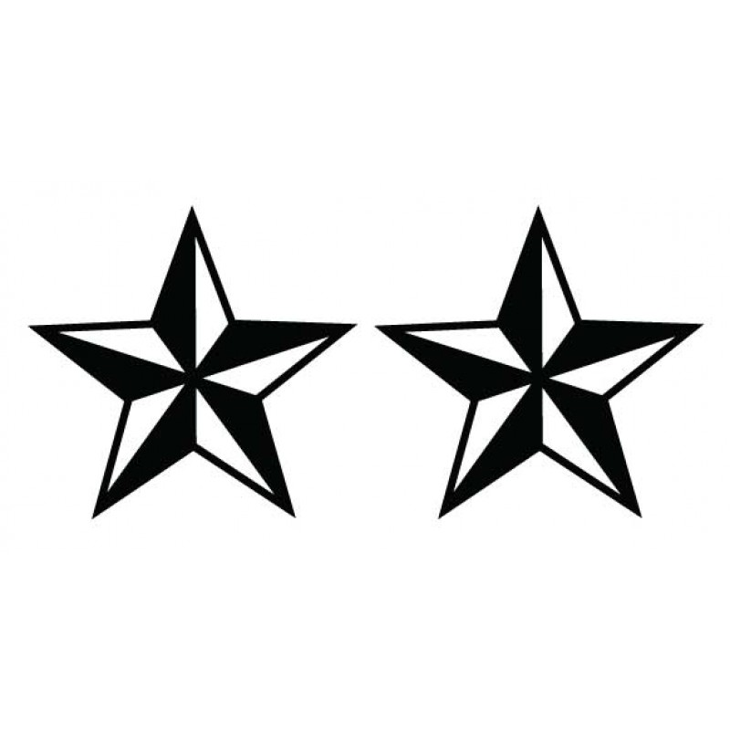 Nautical Star Decal - Many Colors to Chose From