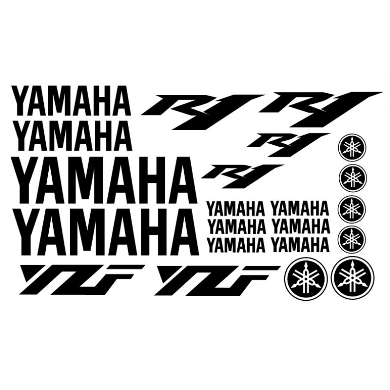 Yamaha R1 Decal Kit - Many Colors to Chose From