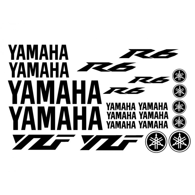 Yamaha R6 (03+) Decal Kit - Many Colors to Chose From