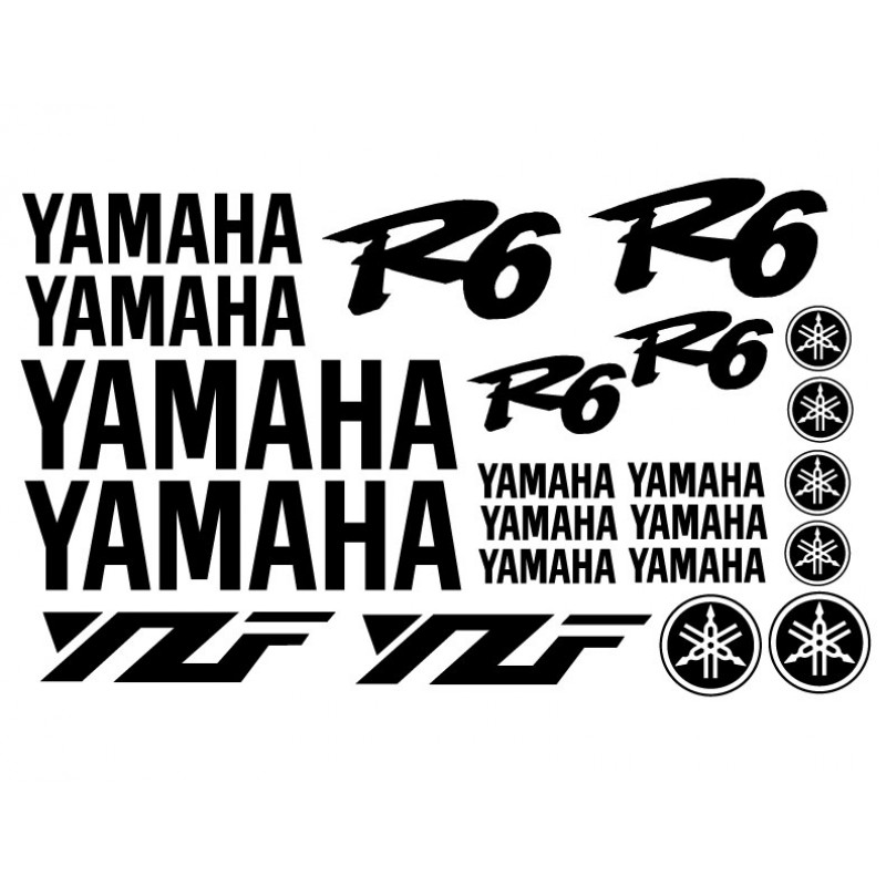 Yamaha R6 (99-02) Decal Kit - Many Colors to Chose From